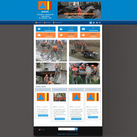 Site web réalisé par monxoops.fr : l'AGOPC