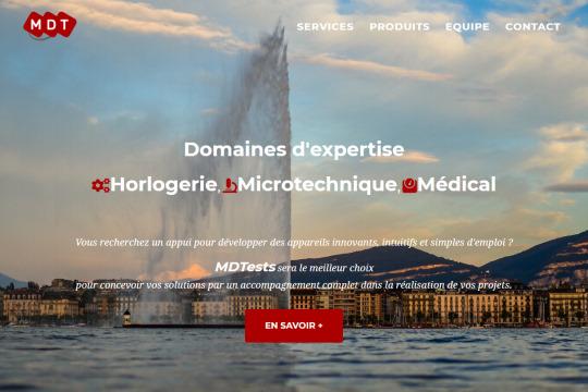 Site web réalisé par monxoops.fr : MDTests