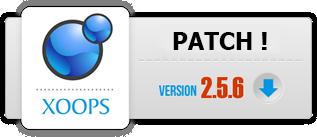 Patch de sécurité pour Xoops 2.5.6