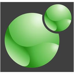 Xoops logo green 256x256