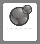 Xoops badge grey 134x150