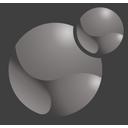 Xoops logo grey 128x128