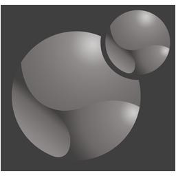 Xoops logo grey 256x256