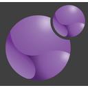 Xoops logo mauve 128x128