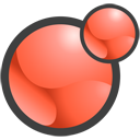 Xoops logo saumon 128x128