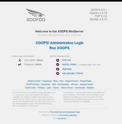 MiniServer Xoops Engine